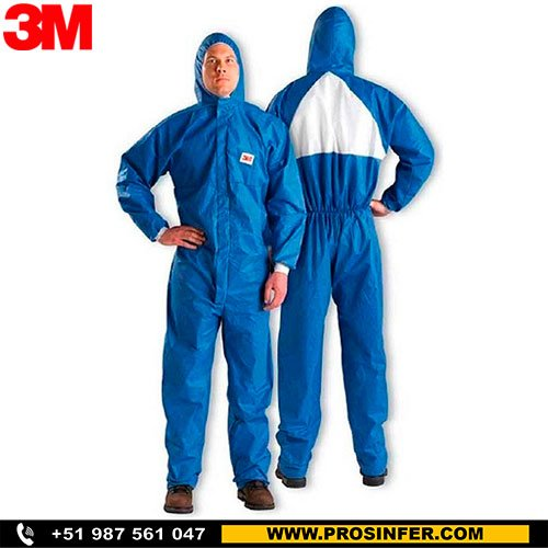 3m 4530 traje tyvek descartable